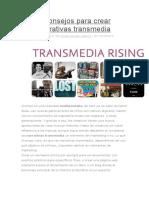 5 Consejos Para Crear Narrativas Transmedia