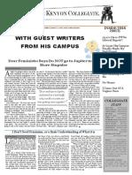 Kenyon Collegiate - Issue 9.7