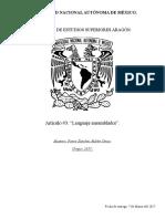 3 - Artículo Científico (Lenguaje Ensamblador)