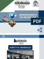 Diapositivas Recepcion