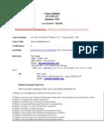 UT Dallas Syllabus for cs2305.5u1.10u taught by Timothy Farage (tfarage)