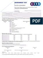 Postal Application Form - Hse Test