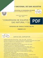 Conversion de Equipos Termicos a Gas Natural Pae-2