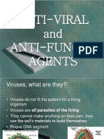 Anti-Viral and Anti-Fungal Agents