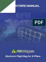 EFBXP Operators Manual
