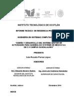 Informe Tecnico 21-11-14