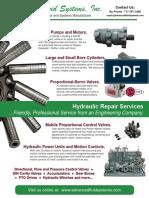 AFS Hydraulic Repair Flyer