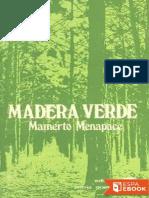 Madera Verde - Mamerto Menapace.epub