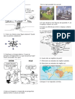 avaliação geografia