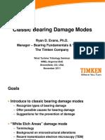 Bearing Failure by Timken