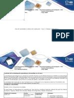 Guía de Actividades y Rúbrica de Evaluación Fase 1 Trabajo Colaborativo 1