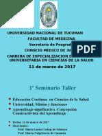 1er Seminario Taller Jujuy Marzo 2017