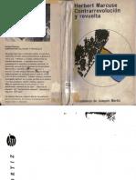 Marcuse, Herbert - Contrarrevolucion y revuelta.pdf