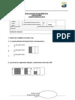 Prueba Fracciones 4ªC 2017