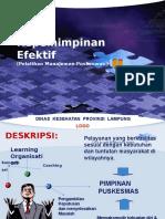 Kepemimpinan efektif-2012