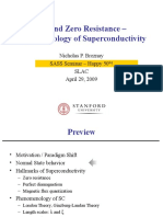 Superconductivity Quantum lecture