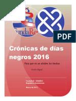 Crónicas fatales en carretera 2016. FundaReD-PGR