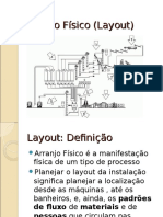 Lay Out Arranjo Fisico