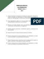 Derechos Basicos de Aprendizaje Vol 2 2017