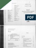 BECKER Bertha K; EGLER, Claudio a. G. Brasil Uma Nova Potencia Regional Na Economia-Mundo.