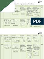 Respuestas Calendario Primer Parcial 2C