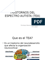 Trastornos Del Espectro Autista (Tea)