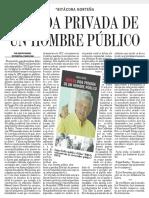 La Vida Privada de Un Hombre Público