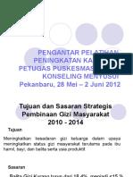Pengantar Pelat Konseling 2012