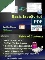 Basic JavaScript