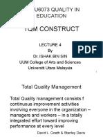 Sgdu6093 Lecture 2.1tqm Construct
