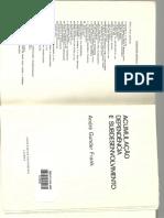 Fank, A.G. Acumulação Dependente e Subdesenvolvimento.