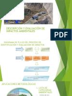 Descripcion y Evaluacion de Impactos Ambientales
