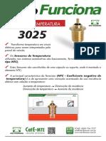 MTE Sensor Temperatura 3025