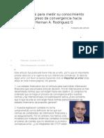 70 Preguntas Para Medir Su Conocimiento Sobre El Progreso de Convergencia Hacia IFRS