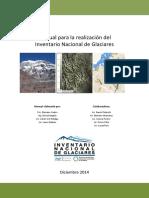 Manual Inventario Nacional de Glaciares v1.3!02!03-14