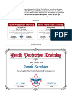 bsa youth protection cert