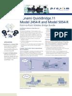 Tsunami QuickBridge.11 Model 2454-R & Model 5054-R