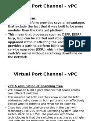 Nexus VPC and OTV   Network Switch   Computer Network