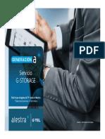 Presentación Comercial GSTORAGE 2015