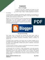 Computación Blogger