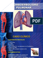 TEP Caso Clinico - Fx de Riesgo