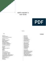 Vertu RM589V User Manual