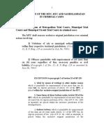 Crim. Juristiction MTC, RTC and Sandiganbayan