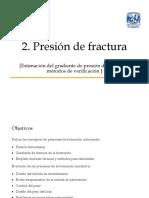 Ing - g4 - Eq2 - Presión de Fractura