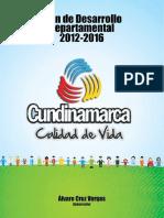 Plan Departamental de Desarrollo 2012-2016-Aprobado Cundinamarca