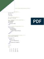 Metode Eliminasi Gauss Tanpa Proses Pivoting