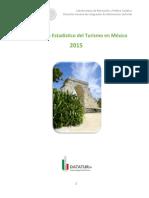 Compendo Estadisitico Tutrismo Mexico_2015