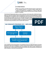 SAS Graduate Program 2016