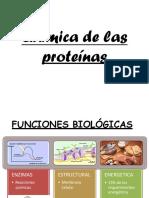 Biquimica de Las Proteinas