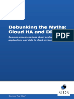SIOS-WP-Debunking Myths HA DR Cloud